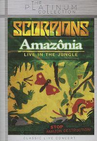 Cover Scorpions - Amazônia - Live In The Jungle [DVD]